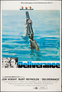 "Deliverance (Warner Brothers, 1972). Poster (40"" X 60"") Style B. Action"