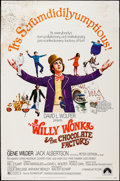 "Movie Posters:Fantasy, Willy Wonka & the Chocolate Factory (Paramount, 1971). Poster (40"" X 60""). Fantasy.. ..."