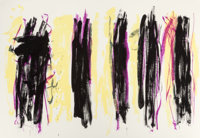 JOAN MITCHELL (American, 1926-1992) Trees III, 1992 Lithograph in colors 56-1/4 x 81-7/8 inches (