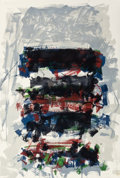 Prints:Contemporary, JOAN MITCHELL (American, 1926-1992). Champs (Fields) (fromCarnegie Hall Centennial Fine Art Portfolio), 1990.Lithograp...