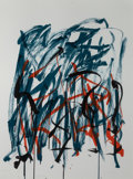 Prints, JOAN MITCHELL (American, 1926-1992). Brush (from Bedford series), 1981. Lithograph in colors. 45-1/2 x 32-3/8 inches (11...