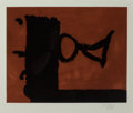 Post-War & Contemporary:Contemporary, ROBERT MOTHERWELL (American, 1915-1991). The Razor's Edge,1985. Aquatint and etching in colors. 15-5/8 x 19-3/4 inches ...