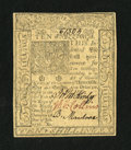 Colonial Notes:Delaware, Delaware January 1, 1776 10s Gem New....