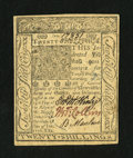 Colonial Notes:Delaware, Delaware January 1, 1776 20s Choice New....