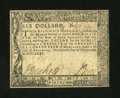 Colonial Notes:Maryland, Maryland December 7, 1775 $6 Very Fine-Extremely Fine....