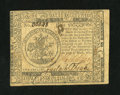 Colonial Notes:Continental Congress Issues, Continental Currency May 10, 1775 $5 Extremely Fine-About New....