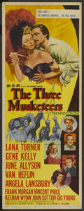 "Movie Posters:Adventure, The Three Musketeers (MGM, 1948). Insert (14"" X 36""). Adventure...."