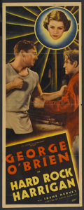 "Movie Posters:Drama, Hard Rock Harrigan (Fox, 1935). Insert (14"" X 36""). Drama. ..."