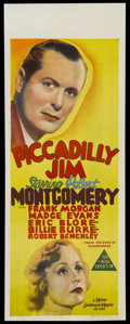 """Movie Posters:Comedy, Piccadilly Jim (MGM, 1936). Pre-War Australian Daybill (15"""" X 40"""").Comedy. ..."""