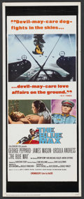 "Movie Posters:War, The Blue Max (20th Century Fox, 1966). Insert (14"" X 36""). War. ..."