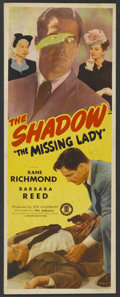 """Movie Posters:Crime, The Missing Lady (Monogram, 1946). Insert (14"""" X 36""""). Crime. ..."""