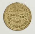Civil War Merchants, Lustrous R.8 J.L. Agens Civil War Merchant Token....