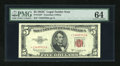 Small Size:Legal Tender Notes, Fr. 1535* $5 1953C Legal Tender Star Note. PMG Choice Uncirculated 64.. ...
