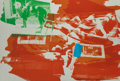 Fine Art - Work on Paper:Print, ROBERT RAUSCHENBERG (American, 1925-2008). Rust Pursuit (from Illegal Tender L.A.), 1992. Lithograph in colors. ...