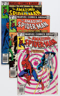 Modern Age (1980-Present):Superhero, The Amazing Spider-Man Box Lot (Marvel, 1980-95) Condition: AverageNM....
