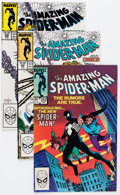 Modern Age (1980-Present):Superhero, The Amazing Spider-Man Box Lot (Marvel, 1984-89) Condition: AverageVF....