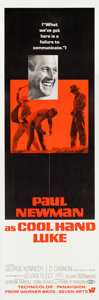 "Movie Posters:Drama, Cool Hand Luke (Warner Brothers, 1967). Door Panels (4) (20"" X60"").. ... (Total: 4 Items)"