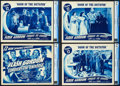 """Movie Posters:Serial, Flash Gordon Conquers the Universe (Universal, 1940). CGC GradedTitle Lobby Card and Lobby Cards (3) (11"""" X 14""""). Chapter 1...(Total: 4 Items)"""