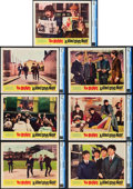 "Movie Posters:Rock and Roll, A Hard Day's Night (United Artists, 1964). CGC Graded Lobby Cards(7) (11"" X 14"").. ... (Total: 7 Items)"