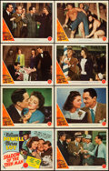"""Movie Posters:Mystery, Shadow of the Thin Man (MGM, 1941). Lobby Card Set of 8 (11"""" X14"""").. ... (Total: 8 Items)"""