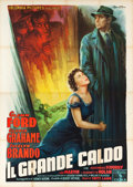 "Movie Posters:Film Noir, The Big Heat (Columbia, 1953). Italian 4 - Foglio (55"" X 78"").. ..."