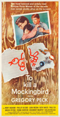 "Movie Posters:Drama, To Kill a Mockingbird (Universal, 1963). Three Sheet (41"" X78.5"").. ..."