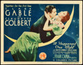 "Movie Posters:Academy Award Winners, It Happened One Night (Columbia, 1934). Title Lobby Card (11"" X14"").. ..."