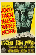 "Movie Posters:Mystery, And Then There Were None (20th Century Fox, 1945). One Sheet (27"" X41"").. ..."