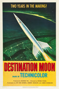 "Movie Posters:Science Fiction, Destination Moon (Pathé, 1950). One Sheet (27"" X 41"").. ..."