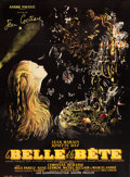 "Movie Posters:Fantasy, La Belle et la Bete (DisCina, R-1951). French Grande (47"" X 63"")....."