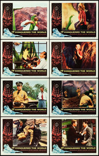 "It Conquered the World (American International, 1956). Lobby Card Set of 8 (11"" X 14""). ... (Total: 8 Items)"