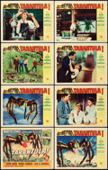 "Movie Posters:Science Fiction, Tarantula (Universal International, 1955). Lobby Card Set of 8 (11""X 14"").. ... (Total: 8 Item)"