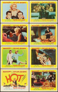 "Movie Posters:Comedy, Some Like It Hot (United Artists, 1959). Lobby Card Set of 8 (11"" X14"").. ..."