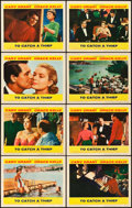 """Movie Posters:Hitchcock, To Catch a Thief (Paramount, 1955). Lobby Card Set of 8 (11"""" X14"""").. ... (Total: 8 Item)"""