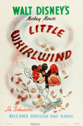 "Movie Posters:Comedy, Little Whirlwind (RKO, 1940). One Sheet (27"" X 41"").. ..."