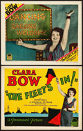 """Movie Posters:Comedy, The Fleet's In (Paramount, 1928). Title Lobby Card and Lobby Card (11"""" X 14"""").. ... (Total: 2 Items)"""