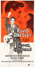 "Movie Posters:Elvis Presley, King Creole (Paramount, 1958). Three Sheet (41"" X 78.5"").. ..."