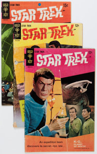 Star Trek #1-61 Half Short Box Group (Gold Key, 1967-79).... (Total: 75 Comic Books)