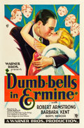 """Movie Posters:Comedy, Dumb-Bells in Ermine (Warner Brothers, 1930). One Sheet (27"""" X 41"""") Style A.. ..."""