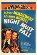 """Movie Posters:Thriller, Night Must Fall (MGM, 1937). One Sheet (27"""" X 41"""") Style B.. ..."""