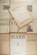 Books:Art & Architecture, Manet, Renoir, Cezanne, and others. Ten Portfolios of Reproductions of Paintings. Paris or Zurich. Folio. Publisher's wrappe... (Total: 10 Items)