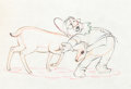 Animation Art:Production Cel, Snow White and the Seven Dwarfs Doc Production Drawing (WaltDisney, 1937)....
