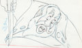 Animation Art:Production Drawing, Pinocchio Stromboli Production Drawing (Walt Disney,1940)....