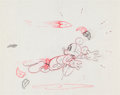 Animation Art:Production Drawing, Thru the Mirror Mickey Mouse Production Drawing (WaltDisney, 1936)....