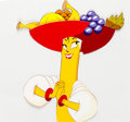 Animation Art:Production Cel, Chiquita Banana Lady Production Cel Animation Art (Chiquita Brands,1970s-80s)....