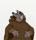 Animation Art:Production Cel, Robin Hood Friar Tuck Production Cel (Walt Disney, 1973)....