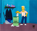 Animation Art:Production Cel, The Simpsons Loafer Lightener Production Cel Set-Up (Fox,2001)....