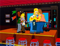Animation Art:Production Cel, The Simpsons Homer, Barney, Lenny, and Carl Production CelSet-Up (Fox, 2001)....