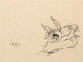 Animation Art:Production Drawing, A Hare Grows in Manhattan Bugs Bunny Production Drawing by Virgil Ross (Warner Brothers, 1947)....