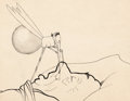 Animation Art:Production Drawing, Winsor McCay How a Mosquito Operates Production Drawing#1868 (1912)....